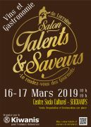 Salon Talents et Saveurs de Lorraine à Seichamps 54280 Seichamps du 16-03-2019 à 10:00 au 17-03-2019 à 19:00