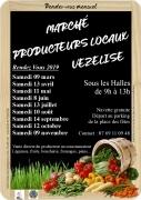 Marché Producteurs Locaux de Vézelise Sous les Halles Vézelise du 09-03-2019 à 09:00 au 09-11-2019 à 13:00