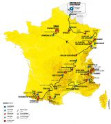 Tour de France 2019 dans le Grand Est Dans le Grand Est du 09-07-2019 à 09:00 au 11-07-2019 à 18:00