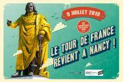 Tour de France à Nancy 9 Juillet 54000 Nancy du 09-07-2019 à 17:00 au 09-07-2019 à 19:00