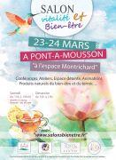 Salon Vitalité Bien-être à Pont-à-Mousson 54700 Pont-à-Mousson du 23-03-2019 à 10:00 au 24-03-2019 à 18:00