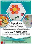 Exposition Couleurs et Printemps à Cirey 54480 Cirey-sur-Vezouze du 13-03-2019 à 19:00 au 27-03-2019 à 18:00