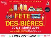 Fête des Bières Nancy Salon du Brasseur 54500 Vandoeuvre-lès-Nancy du 29-03-2019 à 09:00 au 31-03-2019 à 18:00