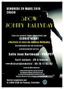 Concert Show Johnny Hallyday à Pompey 54340 Pompey du 29-03-2019 à 20:30 au 29-03-2019 à 22:30