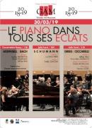 Concerts le Piano dans tous ses Eclats 54000 Nancy du 30-03-2019 à 15:00 au 30-03-2019 à 22:30