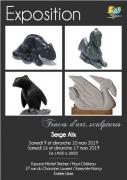 Exposition Traces d'art, sculptures à Essey-lès-Nancy 54270 Essey-lès-Nancy du 09-03-2019 à 14:00 au 17-03-2019 à 18:00