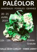 Salon Minéraux et Fossiles Paléolor à Jarny