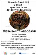 Concert 70 choristes et musiciens à Juvigny-sur-Loison