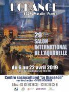 Salon International de l'Aquarelle à Uckange 57270 Uckange du 06-04-2019 à 14:00 au 22-04-2019 à 18:00