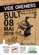 19ème vide-greniers de Bult 88700 Bult du 08-05-2019 à 08:00 au 08-05-2019 à 17:00
