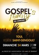 Concert de Gospel's Family à Toul 54200 Toul du 24-03-2019 à 16:00 au 24-03-2019 à 18:00