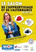 Salon de l'Apprentissage et de l'Alternance à Verdun 55100 Verdun du 20-03-2019 à 14:00 au 20-03-2019 à 19:00