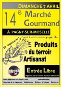 Marché Gourmand à Pagny-sur-Moselle 54530 Pagny-sur-Moselle du 07-04-2019 à 09:30 au 07-04-2019 à 18:00