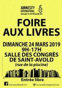 Foire aux Livres à Saint-Avold 57500 Saint-Avold du 24-03-2019 à 09:00 au 24-03-2019 à 17:00