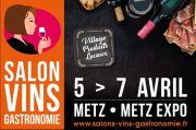 Salon des Vins et de la Gastronomie à Metz  57000 Metz du 05-04-2019 à 10:00 au 07-04-2019 à 18:00