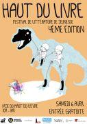 Festival Littérature Jeunesse Nancy Haut du Livre 54000 Nancy du 06-04-2019 à 10:00 au 06-04-2019 à 18:00