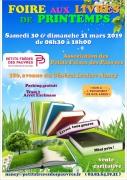 Foire aux Livres de Printemps à Nancy 54000 Nancy du 30-03-2019 à 08:30 au 31-03-2019 à 18:00