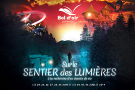 Sur le Sentier des Lumières Bol d'Air La Bresse 88250 La Bresse du 20-06-2019 à 20:00 au 06-07-2019 à 23:30