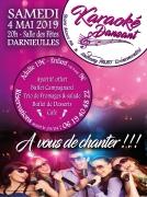 Karaoké Dansant à Darnieulles 88390 Darnieulles du 04-05-2019 à 20:00 au 05-05-2019 à 03:00