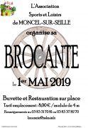 Brocante du 1er Mai à Moncel-sur-Seille 54280 Moncel-sur-Seille du 01-05-2019 à 06:00 au 01-05-2019 à 17:00