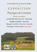Exposition Paysages de Lorraine à Vézelise 54330 Vézelise du 06-04-2019 à 14:00 au 07-04-2019 à 18:00