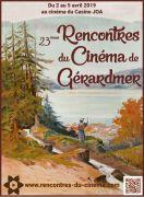 Rencontres du Cinéma de Gérardmer  88400 Gérardmer du 02-04-2019 à 14:45 au 05-04-2019 à 22:30