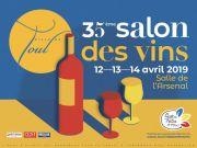 Salon des Vins de Toul 54200 Toul du 12-04-2019 à 14:00 au 14-04-2019 à 18:00