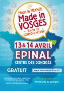 Salon Made in Vosges à Épinal  88000 Epinal du 13-04-2019 à 14:00 au 14-04-2019 à 18:00