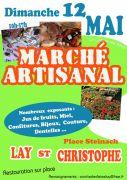 Marché Artisanal à Lay-Saint-Christophe  54690 Lay-Saint-Christophe du 12-05-2019 à 10:00 au 12-05-2019 à 17:00