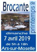 Brocante de Printemps à Ars-sur-Moselle 57130 Ars-sur-Moselle du 07-04-2019 à 05:00 au 07-04-2019 à 18:00