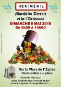 Marché du Terroir et de l'Artisanat à Hériménil 54300 Hériménil du 05-05-2019 à 09:00 au 05-05-2019 à 14:00