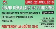 Grand Déballage de Printemps à Fontenoy-la-Joute