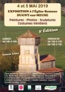 Exposition Peintures, Photos et Sculptures à Dugny-sur-Meuse 55100 Dugny-sur-Meuse du 04-05-2019 à 14:00 au 05-05-2019 à 18:00
