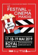 9ème Festival du Cinéma à Saint Max 54130 Saint-Max du 17-05-2019 à 18:45 au 19-05-2019 à 23:00