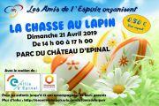 Chasse au Lapin de Pâques à Épinal  88000 Epinal du 21-04-2019 à 14:00 au 21-04-2019 à 17:00