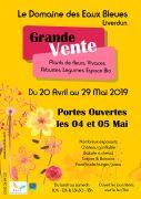 Ouverture des Serres du Domaine des Eaux Bleues à Liverdun 54460 Liverdun du 20-04-2019 à 10:00 au 29-05-2019 à 18:00