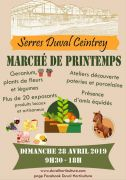 Marché de Printemps aux Serres Duval à Ceintrey 54134 Ceintrey du 28-04-2019 à 09:30 au 28-04-2019 à 18:00
