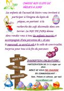 Chasse aux Oeufs de Pâques à Jury 57245 Jury du 10-04-2019 à 15:00 au 10-04-2019 à 17:00