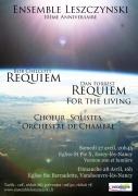 Concert Ensemble Leszczynski Requiem à Vandoeuvre-lès-Nancy 54500 Vandoeuvre-lès-Nancy du 28-04-2019 à 16:00 au 28-04-2019 à 18:00