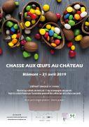 Chasse aux Oeufs au Château de Blâmont 54450 Blâmont du 21-04-2019 à 11:00 au 21-04-2019 à 13:00