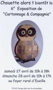 Exposition Cartonnage & Compagnie à Euville 55200 Euville du 27-04-2019 à 10:00 au 28-04-2019 à 17:00