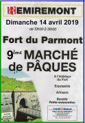 Marché de Pâques Fort Parmont Remiremont 88200 Remiremont du 14-04-2019 à 10:00 au 14-04-2019 à 18:00