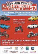 Rassemblement Autos Mythiques à Thionville 57100 Thionville du 09-06-2019 à 09:00 au 09-06-2019 à 18:00