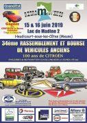 Retro Meuse Auto Madine Véhicules Anciens 55210 Nonsard-Lamarche du 15-06-2019 à 08:00 au 16-06-2019 à 18:00