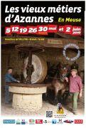 Vieux Métiers Azannes : Dimanches de Mai en Meuse 55150 Azannes-et-Soumazannes du 05-05-2019 à 10:00 au 02-06-2019 à 18:00