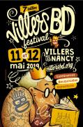 Villers BD Festival BD à Villers-lès-Nancy 54600 Villers-lès-Nancy du 11-05-2019 à 10:00 au 12-05-2019 à 18:00