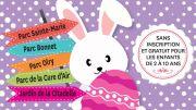 5 Chasses aux Oeufs de Pâques à Nancy 54000 Nancy du 21-04-2019 à 09:30 au 21-04-2019 à 11:00