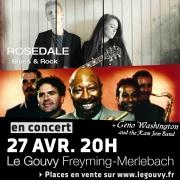 Concert Rock Blues au Gouvy Freyming-Merlebach 57800 Freyming-Merlebach du 27-04-2019 à 20:00 au 27-04-2019 à 23:00