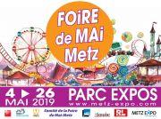 Foire de Mai à Metz Foire Attractive 57000 Metz du 04-05-2019 à 12:00 au 26-05-2019 à 19:00