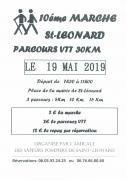 Marche Populaire et VTT à Saint-Léonard 88650 Saint-Léonard du 19-05-2019 à 07:30 au 19-05-2019 à 11:00